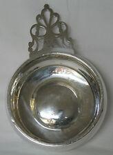 Richard Dimes Large Sterling Silver Porringer Key Hole Handle