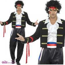 Mens 1980's New Romantic Adam Ant Costume de déguisement pour Adulte