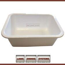 Angram White Drip Tray Large