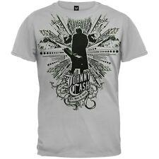 Johnny Cash - Walk Adult Mens T-Shirt