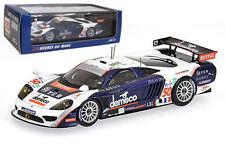 "Spark s1492 Saleen S7r ""Larbre competencia' # 50 Le Mans 2008 - 1/43 Escala"