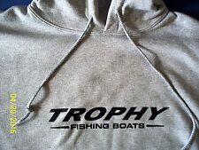 Trophy Fishing Boats Screen Printed Oxford Hooded Sweatshirt 9.5 oz. Heavy