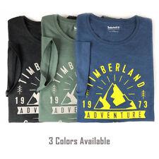 Timberland Men's Short Sleeve Mountain Adventure Graphic T-Shirt A1KWU