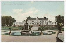 Slott Drottningholm Stockholm Sweden postcard