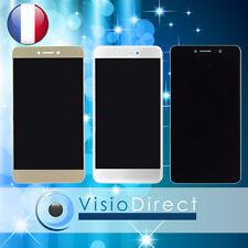 Ecran complet pour Huawei P8 Lite 2017  vitre tactile + LCD noir blanc or bleu
