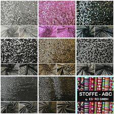 """Tela de Lentejuelas Novedad Brillante Brillante Bling Brillante 10/""""x 14/"""" piezas de material de tela"""