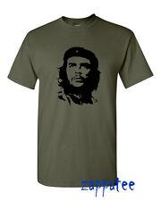 Mens Che Guevara face T Shirt - Iconic retro tee