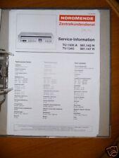 manuel de Service NordMende TU 1300 A/ 1340 Tuner,ORIGINAL