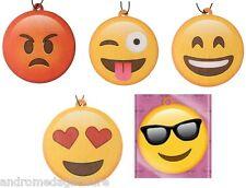 Novedad Colgante Emoti Ambientadores Smiley/angry/Loco etc.! Gratis Reino Unido P&p!