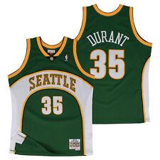 NBA Seattle Supersonics Kevin Durant Hardwood Classics Road Swingman Shirt