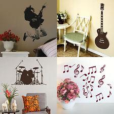 Musica Adesivi Murali strumento moderno! Home Vinile Trasferimento Decalcomania Grafica Decor