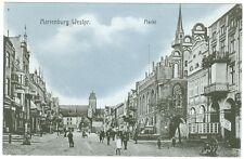 Marienburg / Westpreussen, Markt, 1913