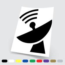 Adesivi in vinile Wall Stickers Prespaziati Antenna WiFi Moto Notebook Auto Pc