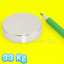 Disco 42x10 mm - 1 pezzo Magnete al neodimio calamita Forza di attrazione 33 Kg