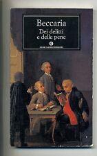 Beccaria # DEI DELITTI E DELLE PENE # Mondadori 1995