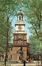 INDEPENDENCE HALL,THE QUAKER CITY-PHILADELPHIA,PA