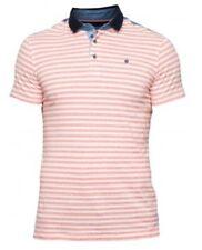 Mish Mash Red Stripe South Bank Polo £ 19.99 RRP £ 45 ** Envío Gratis **