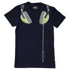 Technics t-shirt-glow in the dark dj casque-nouvelle (s/m/l/xl/xxl)