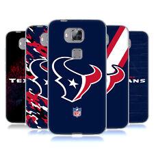 OFFICIAL NFL HOUSTON TEXANS LOGO SOFT GEL CASE FOR HUAWEI PHONES 2