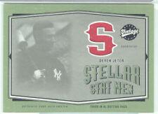 Derek Jeter NY Yankees 2004 UD VIntage GU Jersey Card