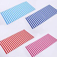 Colorful Striped Bathroom Quick-Dry Towel Travel Camping Shawl Beach Gym Blanket