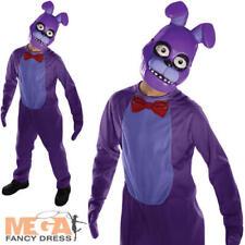 Bonnie Kids Five Nights at Freddy's Fancy Dress Childs Boys Halloween Costume