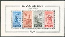 Belgium #B458a Souvenir Sheet, og, Nh, Vf, Scott $200.