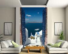 Papier peint géant 2 lés, tapisserie murale déco Vue sur mer réf 177
