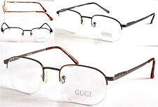 GI023 Transitions Multifocals Progressive Reading Glasses Half Rimless Frame