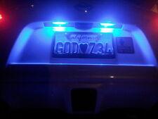 2 x Bright Blue LED T10 194 2825 168 158 5050 Wedge License Plate Light Bulbs