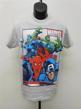 NEW Marvel Thor Hulk Spiderman Captain America Adult Mens Sizes S-M-L-XL Shirt