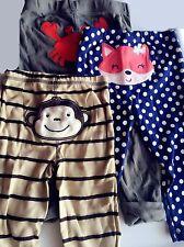 1Pair New Baby Boy Girl Carter's 100% Cotton Bottoms Soft Pants leggings 0-18m