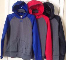 $65 NWT Womens Under Armour Storm Fleece Logo Team Hoodie Sweatshirt 1247774
