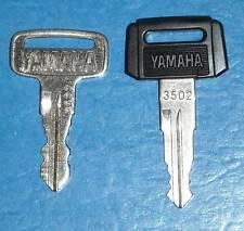 Precut Vintage Yamaha Motorcycle Key  1100-4800 & A-F
