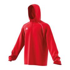Adidas Core 18 Giacca da Pioggia Giacca Bianco Rosso