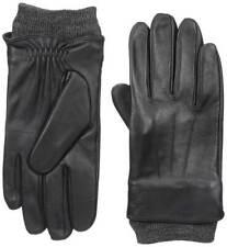 Dockers Men Sheepskin Fleece Lined Leather Genuine Touchscreen Gloves Storm Cuff