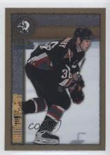 1998-99 O-Pee-Chee Chrome #213 Matthew Barnaby Buffalo Sabres Hockey Card