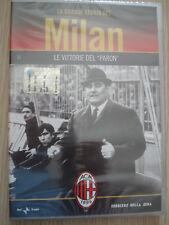 DVD N°11 LE VITTORIE DEL PARON LA GRANDE STORIA DEL AC MILAN SIGILLATO ROCCO