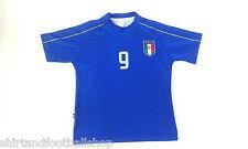 Maglia ITALIA Calcio Azzurri Con Nome  Numero a Richiesta GRATIS EUROPEI FRANCIA