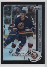 2002 Topps Chrome Black Refractor 152 Eric Godard New York Islanders Hockey Card