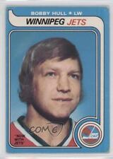 1979-80 O-Pee-Chee #185 Bobby Hull Winnipeg Jets Hockey Card