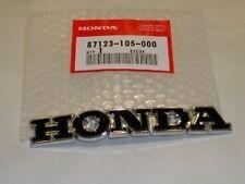 Honda CL 70 SL 90 100 175 350 Tank Emblem Fuel Tank New Rare 87123-105-000