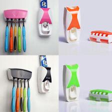 Bathroom Accessories Set For Shower Dust-proof Toothpaste Dispenser Bath RD836