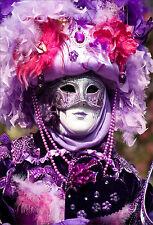 Wandsticker aufkleber deko : Maske Venedig - ref 1685 (16 größe)
