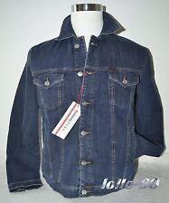 Giubbino jeans uomo HOLIDAY taglie M L XL XXL 3XL  denim elasticizzato scuro
