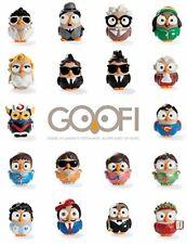 "Gufo in ceramica Egan Segno Zodiacale ""Goofi"" serie ""Zodiagoof"""