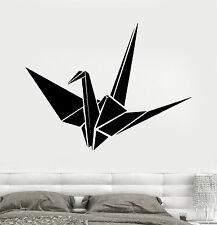 Wall Vinyl Decal Origami Amazing Romantic Birds Decor Bedroom z3712