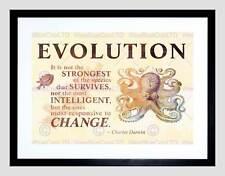 Evoluzione Darwin reattiva cambiare più forti preventivo polpo ART PRINT b12x13898