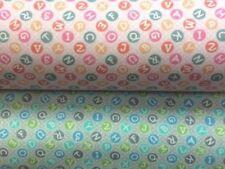 """M'y little sunshine """"lettre carreaux bleu ou rose 100% tissu de coton par la moitié de moi"""
