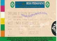 IRELAND v SOUTH AFRICA 28 Nov 1998 RUGBY TICKET